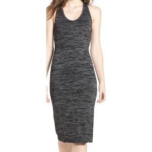 Leith grey bodycon sleeveless dress 7399
